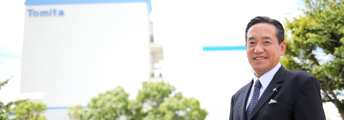 採用が経営を変えた瞬間 代表取締役 富田 純弘氏